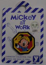 Disney Pin Japan 1996 Worker Mickey New