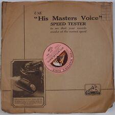 "MOZART: Don Giovanni ADELINA PATTI His Master's Voice HMV UK 12"" 78 NM Superb"