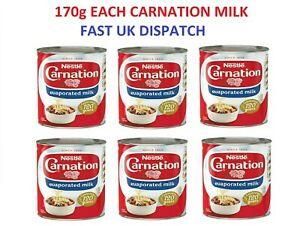 Nestle Carnation Evaporated Milk 170g Brand New Tinned EXP 2022