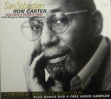 ! CD + DVD Ron Carter/Golden Striker Trio-San Sebastian, Limited Deluxe Edition