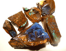 Rough Australian Queensland Boulder Opal Specimens Parcel of 5  1750ct (3271)