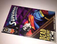 Superman The Man of Steel #38 DCU DC Universe UPC Logo Variant! Dead Again!