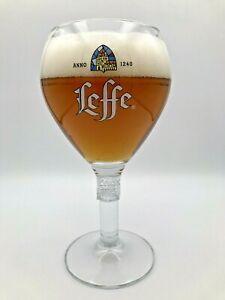 Leffe Pint 50cl Belgian Beer Glass Nucleated Ritzenhoff