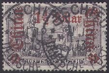 Deutsche Post China Nr. 36A gestempelt geprüft