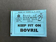 GB King George VI, Stamp Booklet 2/-