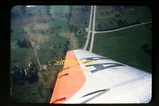 1950's American Airlines Aircraft Wing in Flight, Original Kodachrome Slide b22b