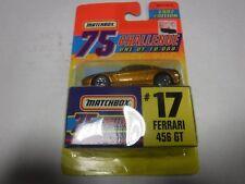 Matchbox 75 Challenge #17 Ferrari 456 Gt 1997 Edition 121318Amcar