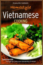 HOMESTYLE VIETNAMESE COOKING Vietnam BBQ Roll Salad Soup Asian Paperback New