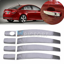 STAINLESS STEEL DOOR HANDLE COVER TRIM MOLDING CAP FOR Chevrolet  Captiva Buick