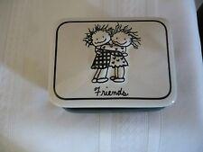 Trinket Box-- FRIENDS (Hugging) Children of the Inner Light (Thank you...hugs)