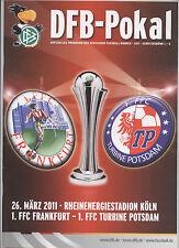 Orig.PRG   DFB Pokal Frauen  10/11  FINALE   1.FFC FRANKFURT - TURBINE POTSDAM !