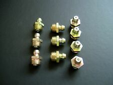 1/8 BSP GREASE NIPPLE FITTING, 1/8 GAS, (10)