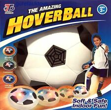 THE AMAZING HOVERBALL KIDS FUN LED FOOT BALL INDOOR SOFT FOAM FUN GAME