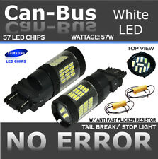 Samsung Canbus 42 LED White Front Turn Signal Replace Sylvania Light Bulb O243