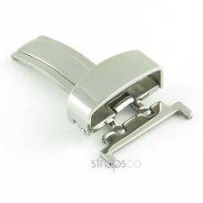 StrapsCo Single Fold Butterfly Deployment Clasp Watch Buckle pvd Stainless Steel