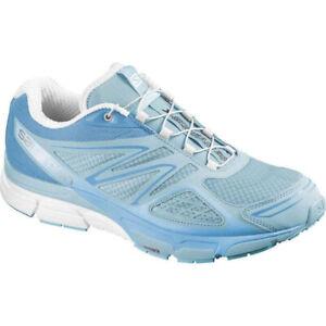 Salomon X-Scream 3D Laufschuhe Turnschuhe Trail Freizeit Schuhe blau Damen