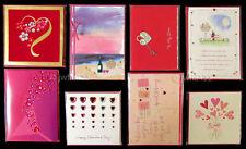 LOT of 8 PAPYRUS Premium VALENTINE'S Cards-Retail $55.60 NEW- Scrapbooking fun!!