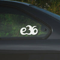 BMW e36 window windshield sticker stance drift sport decal