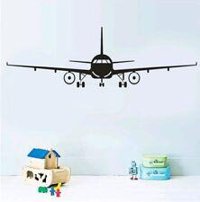 Airplane wall vinyl decal sticker baby nursery boy bedroom