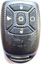 AUTOSTART Replacement aftermarket fob 5 Button green led keyless remote control