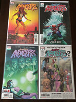 West Coast Avengers #1-4 Marvel 2018 vol 3 Thompson 2 Variant Covers!