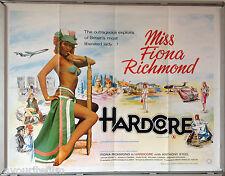 Cinema Poster: HARDCORE 1977 (Quad) Fiona Richmond Anthony Steel David Cole