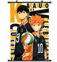 Anime Haikyuu Wall Scroll Home Decor Poster Cosplay 2683