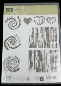 Stampin' Up! - [ Tie Dyed ] - Set of 8 - 143008