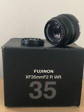 Fujifilm Fuji Fujinon XF 35mm 2.0  schwarz mit Restgarantie