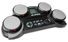 Alesis CompactKit 4 4-Pad Portable Tabletop Electronic Drum Kit with Drumsticks