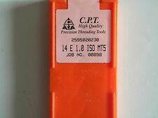 Platten zum Gewindefräsen von C.P.T., 14 E 1,0 ISO MT 5
