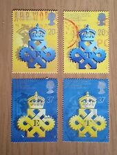 Complete used GB stamp set - 1990 Queen's Export & Technology Awards