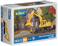 Kibri 16312 H0 Atlas Zweiwege Bagger Gleisbau