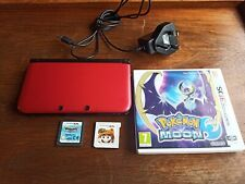 Nintendo 3DS XL Console and games Pokemon etc