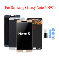 For Samsung Galaxy Note 5 N920 LCD Touch Digitizer Screen Replacement + Tools