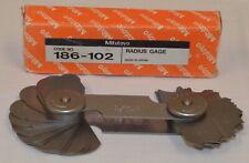 Mitutoyo 186 102 Radius Gage New