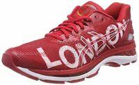 ASICS GEL-NIMBUS 20 LONDON Women's Running Shoes Red Gym NWT 111810215-2323