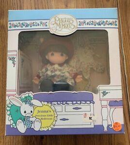 PRECIOUS MOMENTS JENNA'S PRECIOUS LITTLE BEDROOM DOLL 1993 ROSE ARTS UNOPENED +