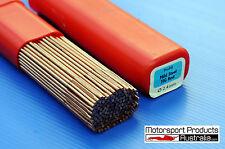 TIG 2.4 x 1000mm Mild Steel Filler Rod 5KG pack ER70S-6 Copper Coated