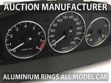 Mazda Xedos 6 9 1992-2002 3- Teilig Aluminium Tachoringe / Tacho Ringe