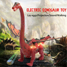 Electric Dinosaur Toy Spinosaurus Lay Egg Real Sound Colorful Light For