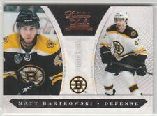 MATT BARTKOWSKI RC #226 BOSTON BRUINS #/899 2010-11 LUXURY SUITE