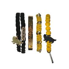 Harry Potter Hufflepuff Bracelet Set