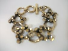 Banana Republic Heritage Crystal Link Statement Bracelet NWT $68.00