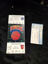 Vintage 1992 NY Knicks Vs. Chicago Bulls Eastern Conference Championship Ticket