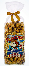 NEW Disney Parks Main Street CHOCOLATE CARAMEL SEA SALT Popcorn Company 9oz Bag