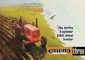 Nuffield Universal Three Poster (A3)