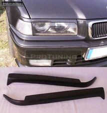 For BMW 3 ser E36 Eyebrows headlight lightbrows eye lids brows covers set