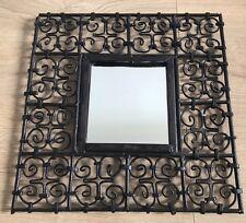 Miroir Fer Forgé Ethnique 39,5cm x 39,5cm 100€
