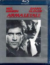 """Blu-ray Disc """"ARMA LETALE"""" con M. Gibson e D. Glover Nuovo Sigillato 1987"""